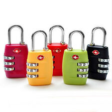 TSA Security 3-Digit Combination Travel Suitcase Luggage Bag Code Lock Padlock