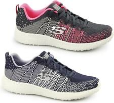 Skechers BURST-ELLIPSE Ladies Womens Sports Fitness Gym Comfort Lace Up Trainers