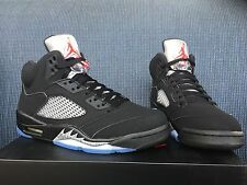 2016 AIR JORDAN RETRO 5 OG MEN size 8 9 10.5 11 12  black Metallic NMD PK yeezy