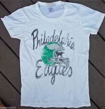 New Authentic Junk Food NFL Philadelphia Eagles Kick Off Crew Juniors T-Shirt