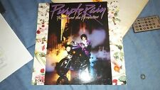 PRINCE & THE REVOLUTION LP PURPLE RAIN PURPLE COLORED VINYL LIMITED with Extras!