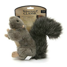 Jakks Pets American Classic Plush Squirrel Dog Toy Small or Large FREE SHIPPING