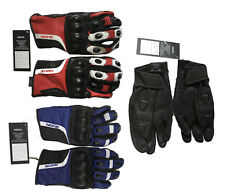 Motocross Racing Pro-Biker Motorcycle Bike Cycling Full Finger Gloves Leather