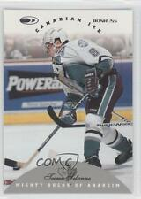 1996 Donruss Canadian Ice 85 Teemu Selanne Anaheim Ducks (Mighty of Anaheim) 0a0