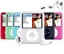 8gb Slim Mp3 Player 1.8'' LCD Media Video Game Movie Radio FM MP4