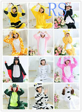 Hot Unisex Adult Pajamas Kigurumi Cosplay Costume Onesie Animal Sleepwear S-XL