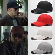 Fashion Unisex Mens Cotton Snapback Hip Hop Baseball Peaked Caps Adjustable Hats