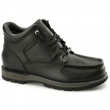 Rockport UMBWE TRAIL WP Mens Leather Lace Up Waterproof Trail Boots Black