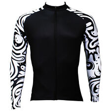 Mens Mountain Bike jersey Long Sleeve Cycle Clothing Cycling Long Sleeve Jacket