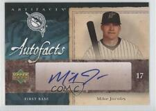 2007 Upper Deck Artifacts Autofacts #AF-MJ Mike Jacobs Miami Marlins Auto 0a1