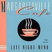 Margaritaville Cafe Late Night Menu by Various Artists CD Jimmy Buffett OOP