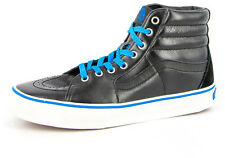 New Men's Vans Sk8 Hi Top Black/blue Footwear Hi-top Sneakers Boots