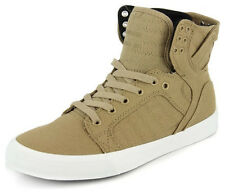 New Men's Supra Skytop D Khaki/white Footwear Sneakers Shoes Runners
