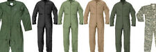 Flightsuit Jumpsuit Coverall Air Force Military Mechanic Suit - Different colors