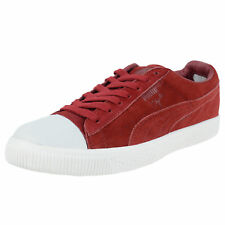 PUMA CLYDE X UNDEFEATED COVERBLOCK SNEAKERS RIO RED WHISPER WHITE 352778 01