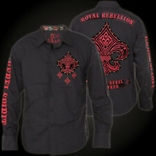 Rebel Spirit Shirt LSW151745 Black