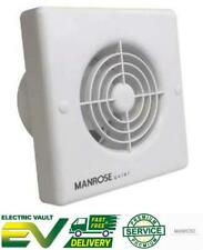 """Manrose Quiet Wall/Ceiling Extractor Fan - QF100 Range 4"""" / 100mm"""