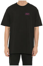 New Men's Huf Bar Logo Tee Black/pink Tops Tshirt Shirt Tee