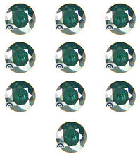 10 Pc Round Natural GREEN LOOSE DIAMOND SOLITAIRE 2.3 MM / 3.0 MM Wholesale LOT