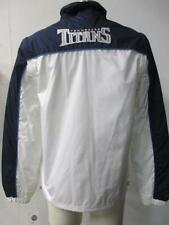Titans Womens S - XL Full Zip Windbreaker Jacket w/ Removable Sleeves TTN 9