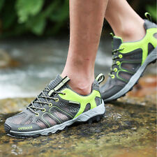Mens Outdoor Sports Running Hiking Mountain Hunting Athletic Mesh Sneakers Shoes