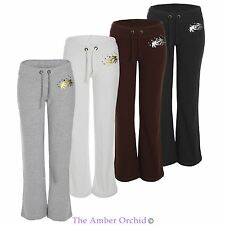Womens Ladies Yoga Pants Gym Sports Running Jogging Stretch Fitness Trousers