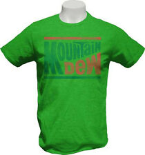 Mountain Dew Logo T-Shirt Green Will Ferrell Step Brothers Brennan Huff Costume