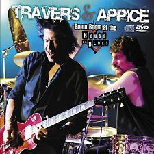 PAT TRAVERS & CARMINE APPICE New Sealed 2016 LIVE CONCERT DVD & CD SET