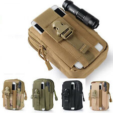 Fashion Molle Pouch Belt Waist Pack Bag Military Waist Fanny Pack Phone Pockets