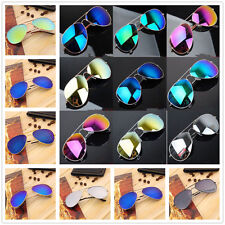Unisex Vintage Retro Women Men Glasses Mirror Lens Sunglasses Fashion FE