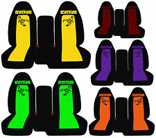 cc FORD RANGER CAR SEAT COVERS SCORPION FRONT 60-40seat Highback choose COLORS