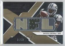 2008 SPx Winning Materials Single Jersey NFL Letters WM-JE Jerricho Cotchery 0a6