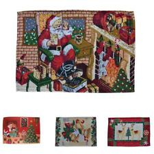 Christmas Dinning Placemat Table Mat Holiday Table Party Dinner Decor Place Mat