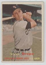 1957 Topps #257 Walt Dropo Chicago White Sox Baseball Card 3n7
