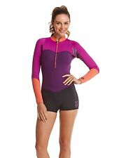 NEW ROXY™  Ladies XY Collection 2mm Long Sleeve Springsuit Wetsuit Womens Surf