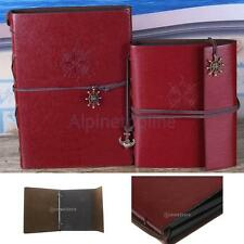 Vintage PU Leather Photo Album Memo Book Paste DIY Scrapbook Handmade Gift
