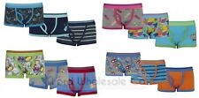 Older Boys 3 Pack Trunks Boxer Shorts Underwear aged 7-8 to 13 years