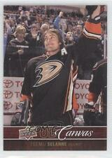 2012 Upper Deck UD Canvas C4 Teemu Selanne Anaheim Ducks (Mighty of Anaheim) 0f8