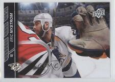 2015-16 Upper Deck #104 Eric Nystrom Nashville Predators Hockey Card 1p3