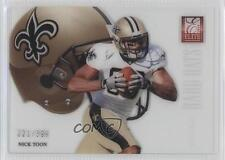 2012 Elite Rookie Hard Hats #27 Nick Toon /399 New Orleans Saints Card 6x8