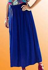 Simply Be Ladies Maxi Skirt L 36 in Size 14 UK Royal Blue New