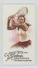 2008 Topps Allen & Ginter's Mini Ginter Back 249 Serena Williams Rookie Card 0a1