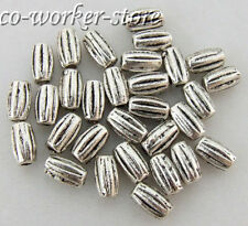 100 500pcs olivary ANTIQUE Tibet Silver alloy Spacer Beads 7*4mm