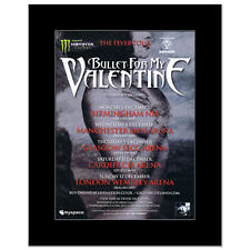 BULLET FOR MY VALENTINE - Fever Tour 2010  Matted Mi...