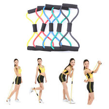 Fitness Equipment Tube Workout Exercise Elastic Resistance Band For Yoga EUSS