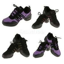 Trendy Women Athletic Sneakers Comfy Modern Jazz Hip Hop Lace Up Dance Shoes