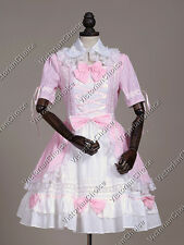 Ladies Victorian Sweet Princess Dress Lolita Gown Cosplay Theater Clothing 218