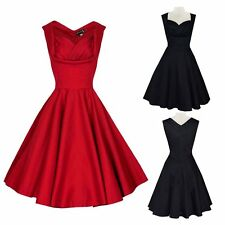 Women Vintage Style Hepburn Rock Swing Pinup Retro Cocktail Party Prom Dress