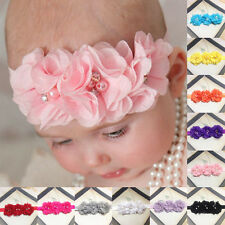 2016 Cute Kids Girl Baby Toddler Flower Headband Hair Band Accessories Headwrap