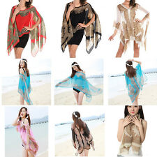 Fashion Chiffon Sunscreen Summer Long Soft Scarf Scarves Shawl Neck Wrap Stole